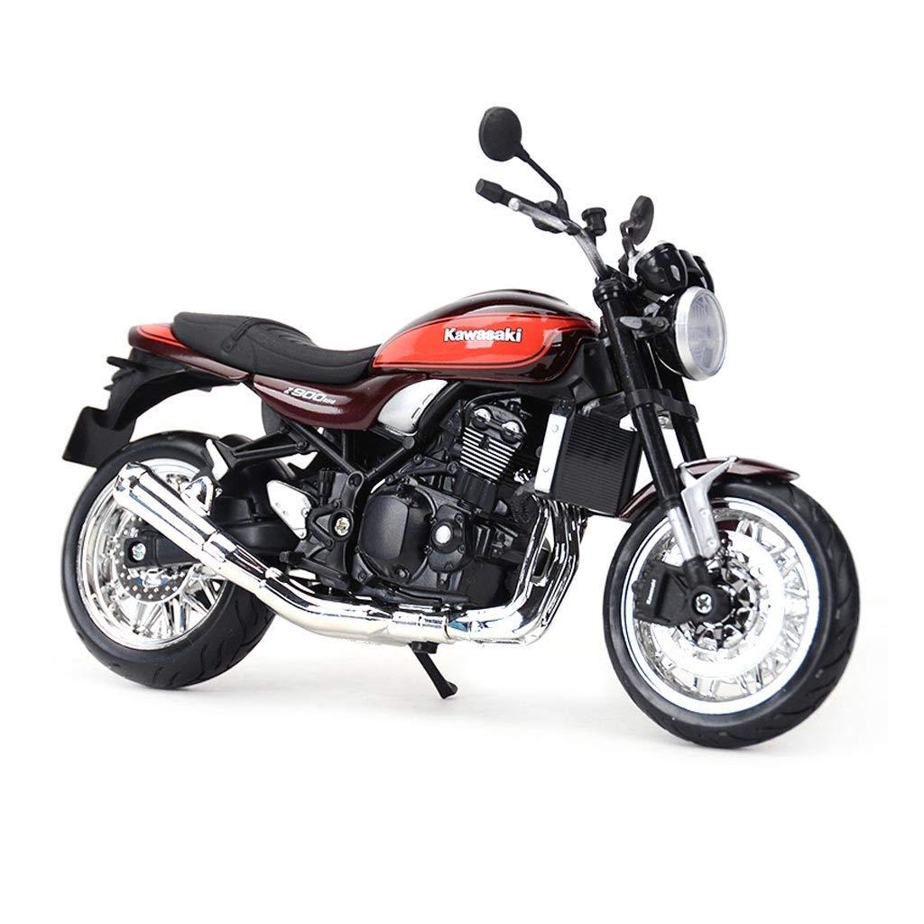 Auto Modello Moto Mod/èle 1:12 Kawasaki Z900RS Route Locomotive Simulation Alliage Statique Moto Mod/èle Collection D/écoration Cadeau