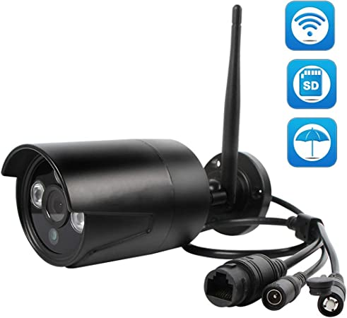 2Pack 720P Wireless IR Night Vision Home Security WiFi IP Camera Outdoor System