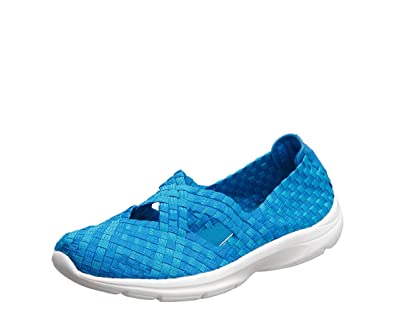 Easy Spirit Quest Womens Slip On Sneakers, Blue, Size 6.0