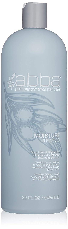 ABBA Moisture Shampoo, Peppermint, 8 Fl Oz