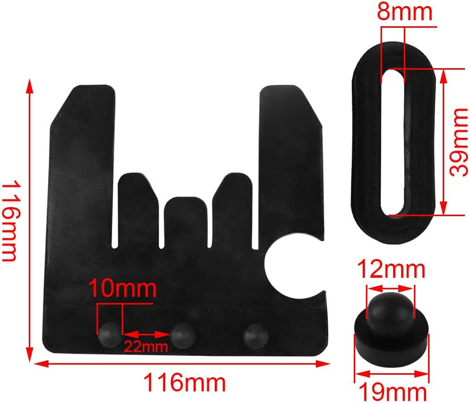FLYPIG PW80 PY80 Front/Rear Plastic Fenders Kit for Yamaha PW 80 ...