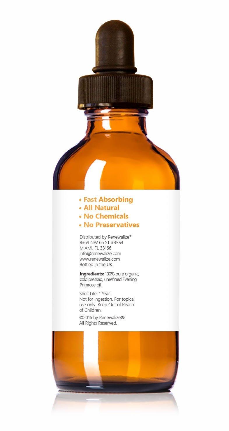 Renewalize Certificado Orgánico Aceite de Onagra En Large 4 ...