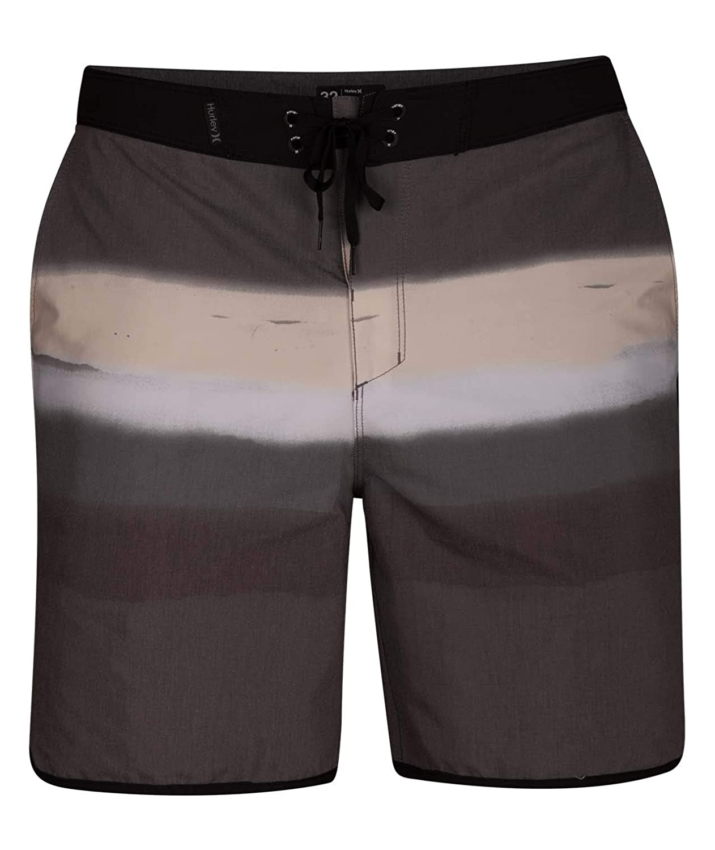 TALLA 31. Hurley M Beachside Spray Booth 18' Pantalones Cortos, Hombre, Negro, 31