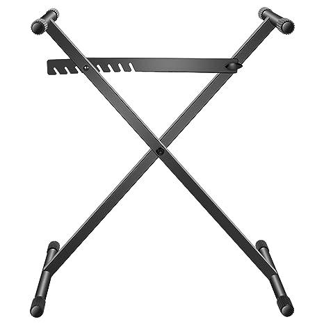 Neewer X-Estilo Soporte para Teclado - Construcción Reforzada de Acero de Construcción Simple con