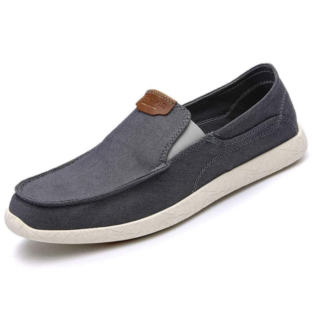 YAN Herrenschuhe Niedrig-Top-Freizeitschuhe Loafers & Slip-Ons Cowboy-Driving-Schuhe 2018 Fashion Party & Abend Büro im Freien (Farbe : C, Größe : 41)