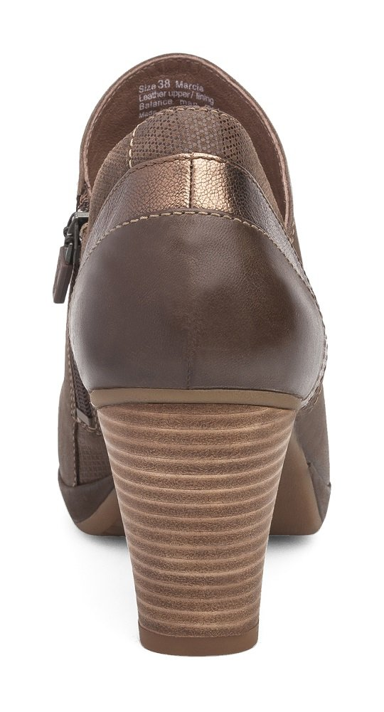 Dansko Women's Marcia Ankle Boot B01MY33WYU 42 M EU Teak Burnished Nubuck