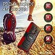 ZTE Grand X 4 Case, Evocel Rugged Holster Dual Layer Case [Kickstand][Belt Swivel Clip] For ZTE Grand X4 (Cricket), Red (EVO-ZTEX4-XX03)