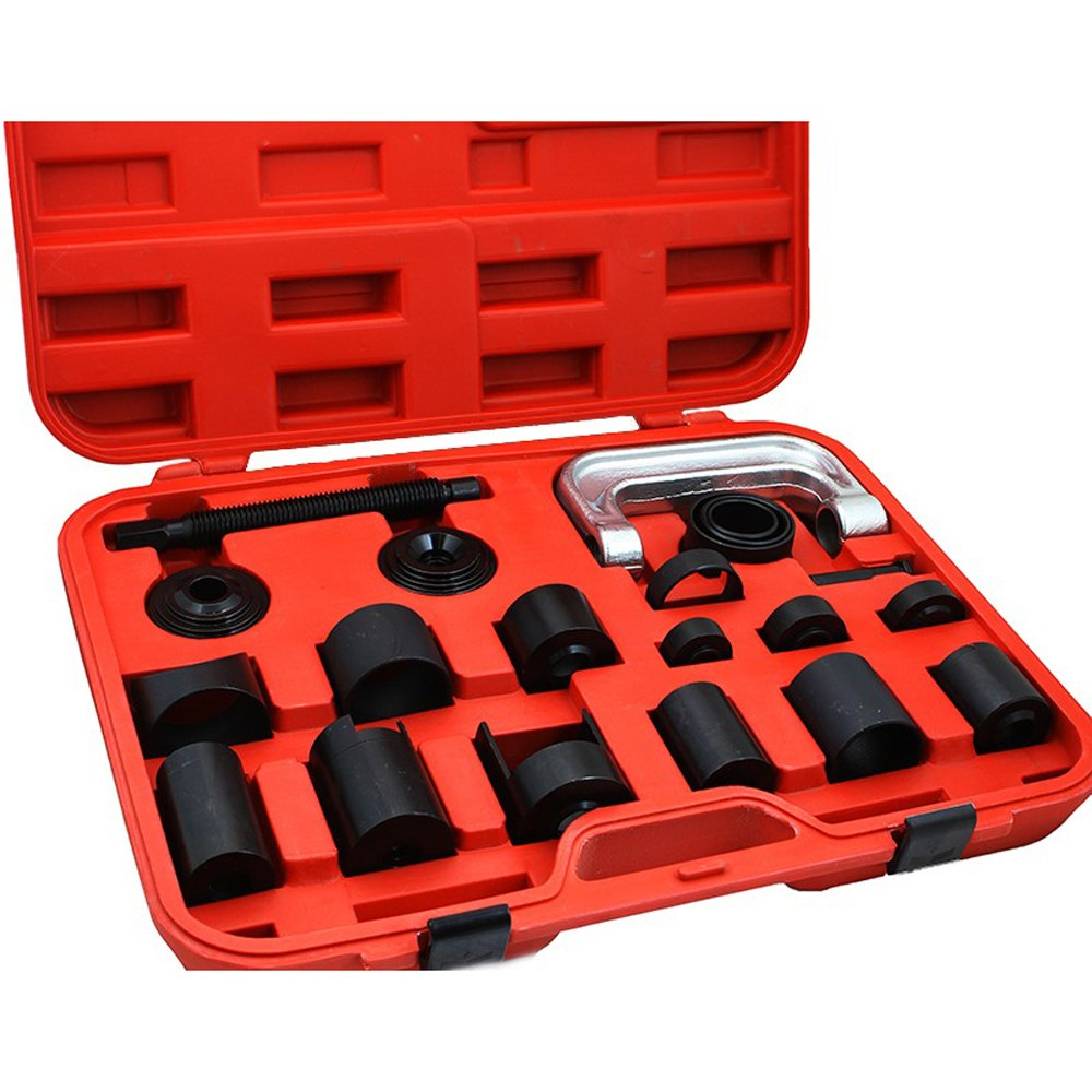 Enshey 21Pcs Ball Joint Service Auto Truck Tool Set Auto Repair Remover Installer Extractor Removal Mechanic Tool Kit Vehicles Remover Install Tools Kit Exquisite Craftsmanship Durable