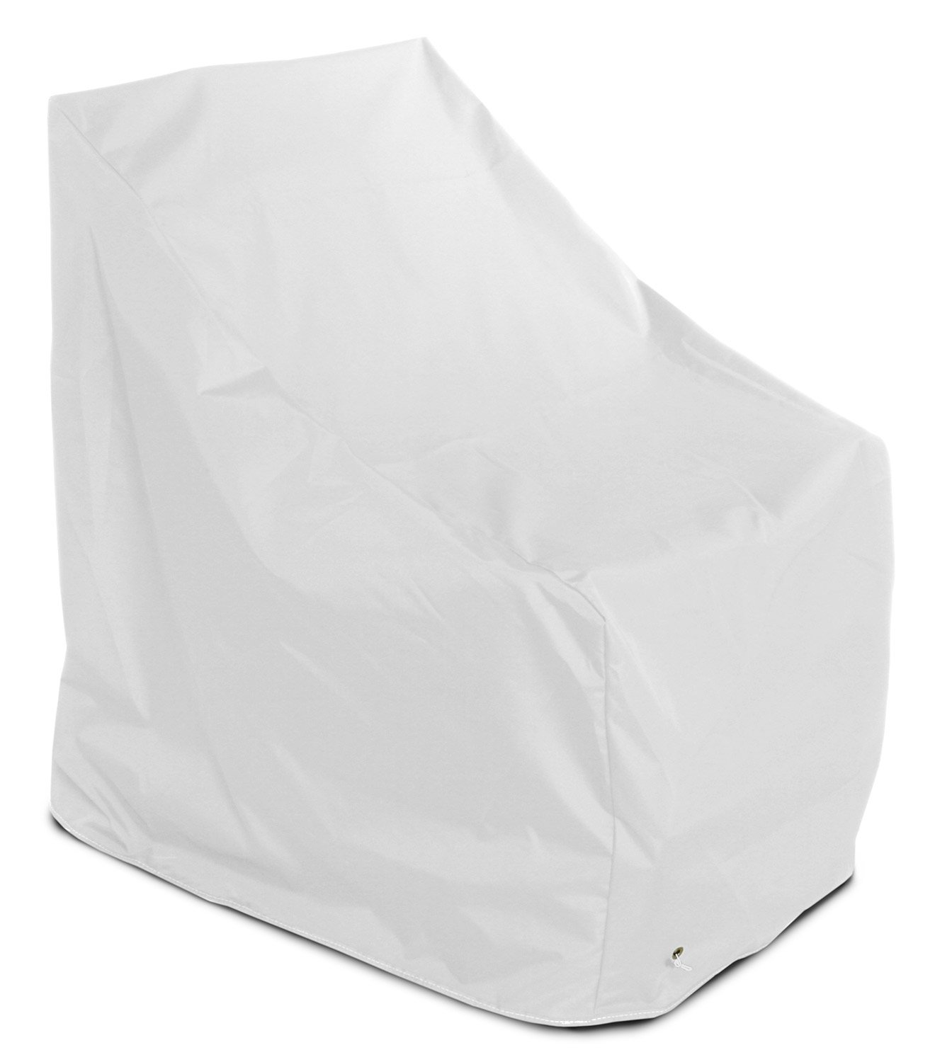 KoverRoos Weathermax 12750 Adirondack Chair Cover, 40-Inch Width by 37-Inch Diameter by 41-Inch Height, White