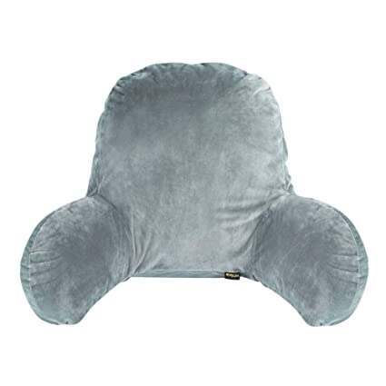 Lumbar Support Back Pillow Bedrest Cushion Pillow Backrest With Arms With Zipper Removable Covers Washable From Hmlike