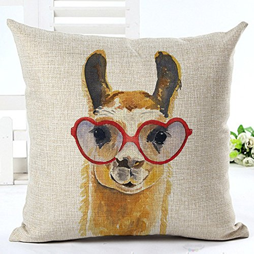 Darling camel pillow