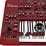for ROLAND JP-8000 Large Original Factory & NEW Created Sound Library & Editors on CD or download
