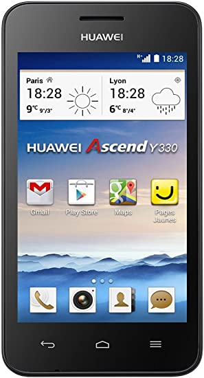 Huawei Ascend Y330 - Smartphone Libre Android (Pantalla 4