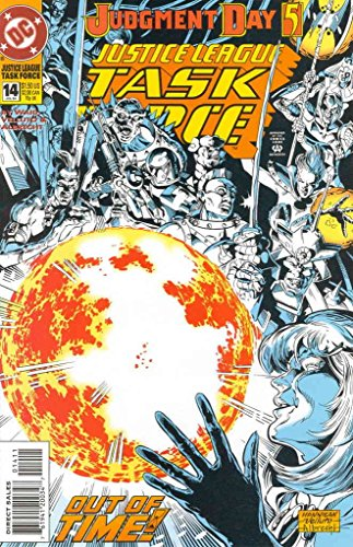 Justice League Task Force #14 VF/NM ; DC comic book