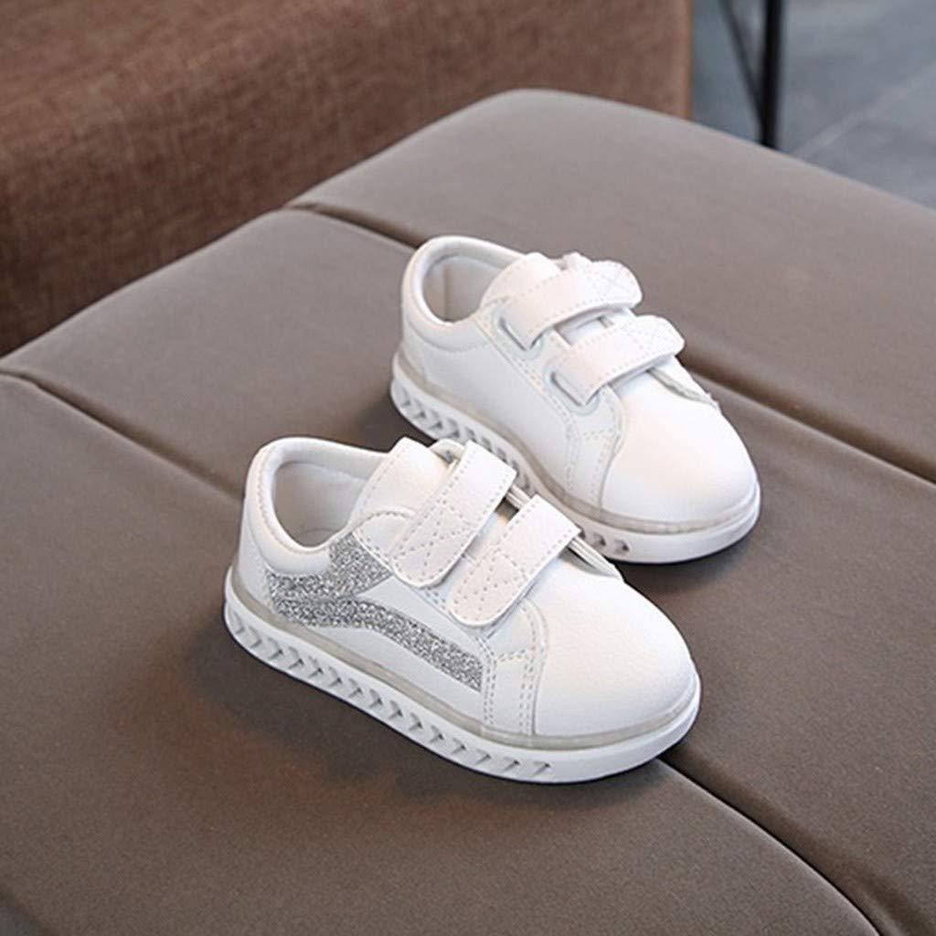 Oksea Unisex Kinder Turnschuhe Licht LED Sneaker Blinkt Schuhe Leuchtschuhe Mode Atmungsaktives Mesh Blinkende Ausbilder Outdoor Schuhe Blinkende Kinderschuhe f/ür M/ädchen Jungen