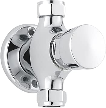 Bristan Concealed Non Concussive Timed Flow Shower Valve Chrome Gym Pool School