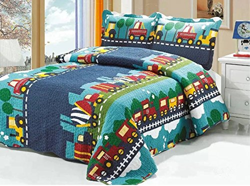train quilt pattern - 5