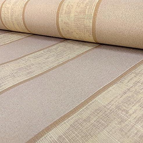 Muriva Tapete 20525 10,05 M U0026quot;Italian Style Seren Streifen Luxus  Schwergewicht Wand