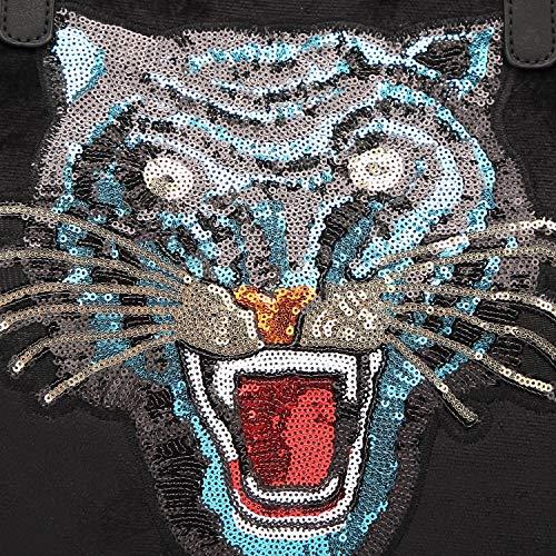 Fourre Tiger Plage A 33 La 16 tout Main Gym Head Voyage Shopping Sacs Cat Sac Épaule Randonnée Peluche Jouet À Paquet De Pour 36cm HqEHz