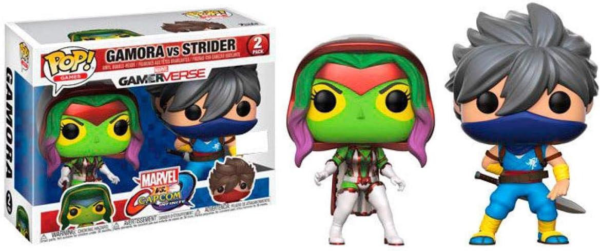 LAST LEVEL Figura Pop Pack Cap MARV Gamora VS Strider, Multicolor (FFK22785): Amazon.es: Juguetes y juegos