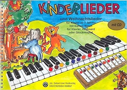 Weihnachtslieder Noten Für Glockenspiel.Kinderlieder Und Weihnachtslieder Für Kinder Ab 3 Jahren Mit Cd Mit