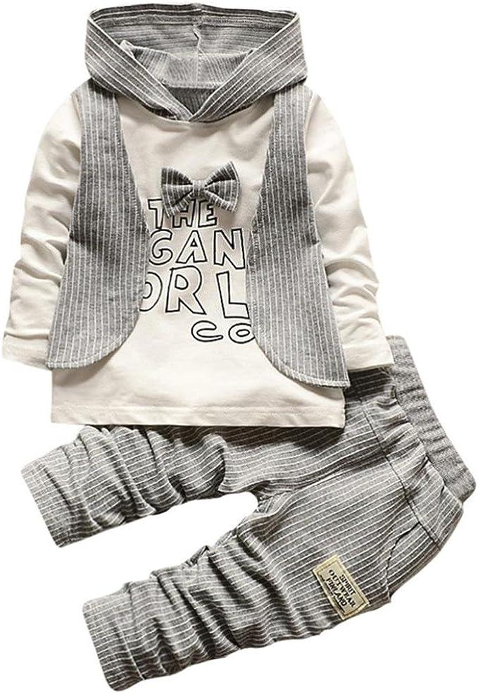 Baby Coat,amazingdeal Boy Knitting Cardigan Winter Solid Long Sleeve Hooded Sweaters