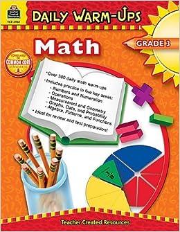 Book Daily Warm-Ups: Math, Grade 3 by Roddy, Heath (2006)