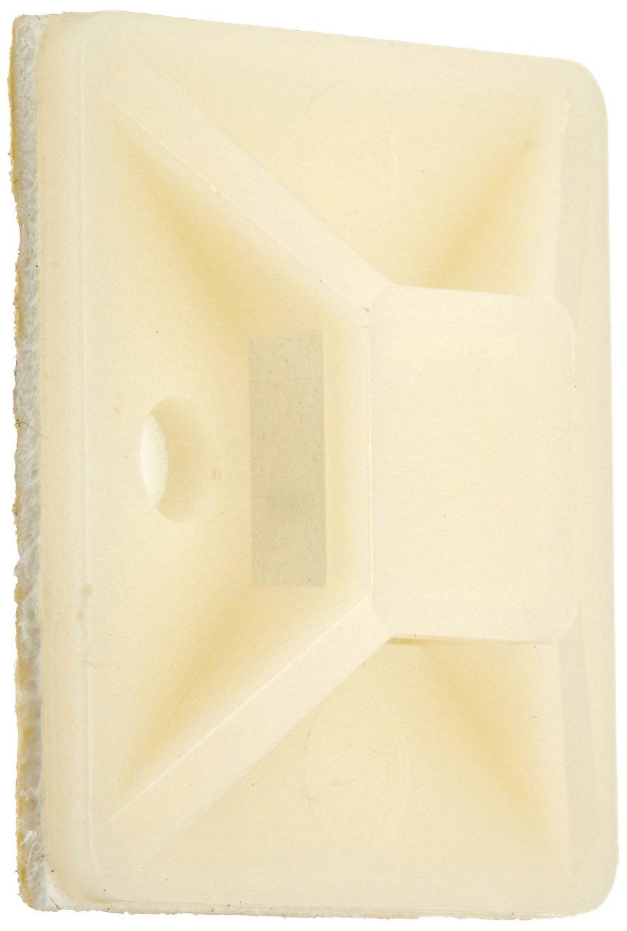 Monoprice Cable tie mounts 30x30(mm), 100pcs/Pack - white 105861