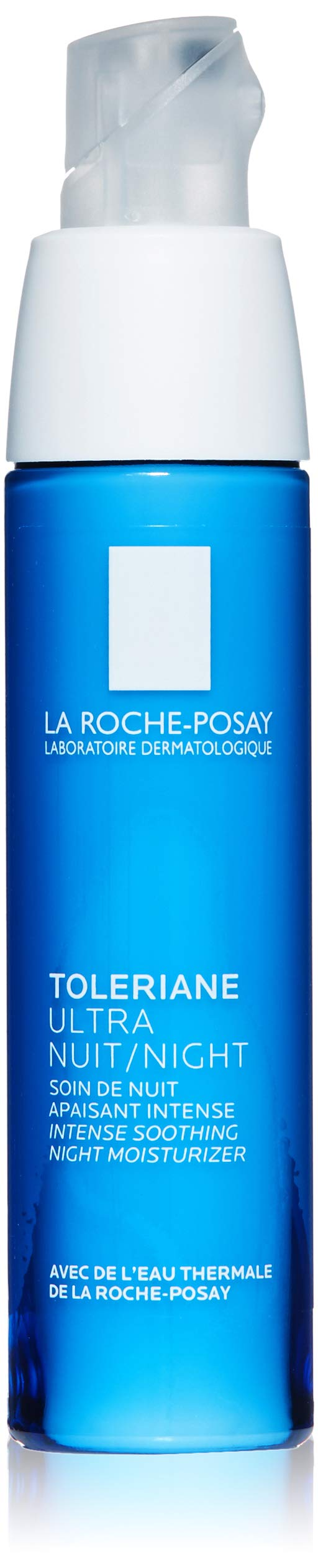 La Roche-Posay Toleriane Ultra Night Cream for Face Intense Soothing Moisturizer, Allergy Tested, 1.35 Fl. Oz.