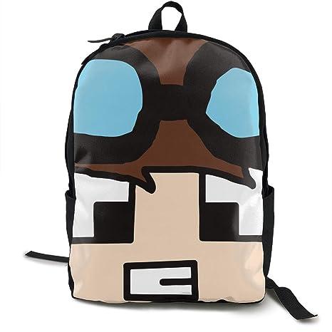 Amazon.com  Lixue Minecraft Daniel Middleton Angry Face Basic ... 9f50e9268ae66