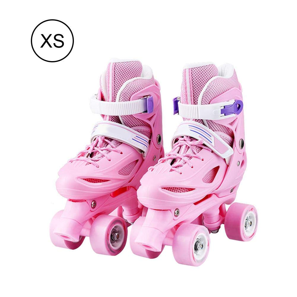 Laideyilan Super-Grip Roller Skates Two-in-One Double Row Adjustable Size Sport Shoes