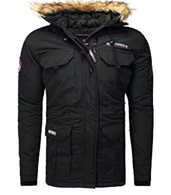 Homme Geographical Xxxl Noir Barely Norway Parka qEwTFE01