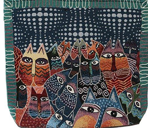 Big Siz Bohemian Shoulder Cat C002 Bag Handbag Handle Hippie Tote Top 8wdqUOz