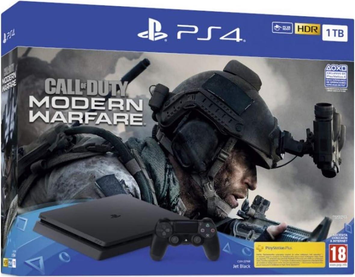 PlayStation 4 Consola de 1TB + Call of Duty MW 2019 (PS4): Sony: Amazon.es: Videojuegos