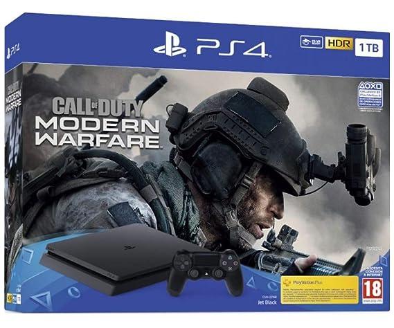 PlayStation 4 Consola de 1TB + Call of Duty MW 2019 (PS4): Sony ...
