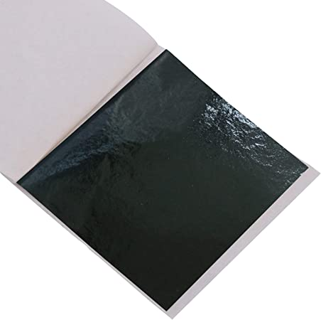 Furniture Arts Decoration Gilding 100 Sheets 3.15 by 3.35 Inches Wall KINNO Imitation Gold Foil Sheets Purple Leaf Paper for Picture Frames Line Nails Handcrafts Sculpture
