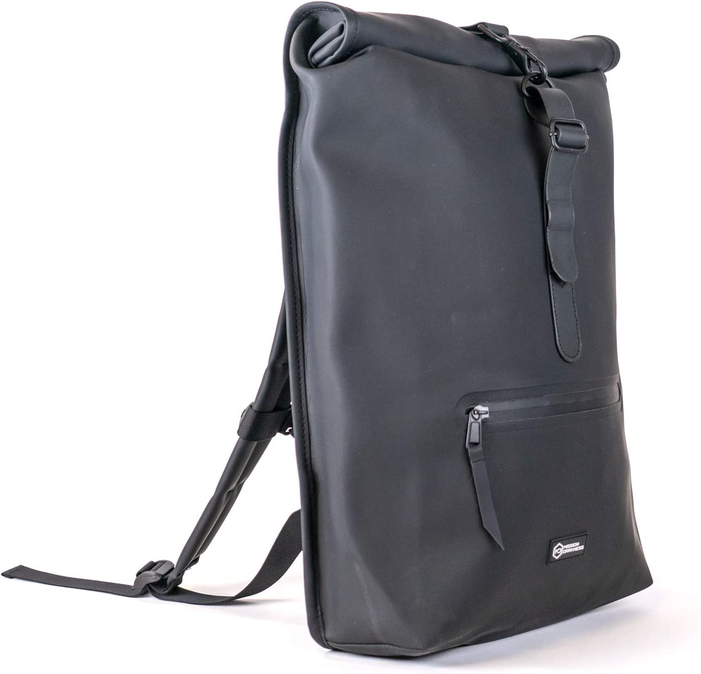 Mission Darkness FreeRoam Faraday Backpack. Stylish Bag with Durable Water-Resistant Exterior, RF Blocking Liner, Padded Laptop Compartment. Used for Device Isolation, Anti-Tracking, EMF Shielding.