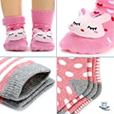LAMAMAMAS Baby Toddler Socks Boy Girl Non Slip with