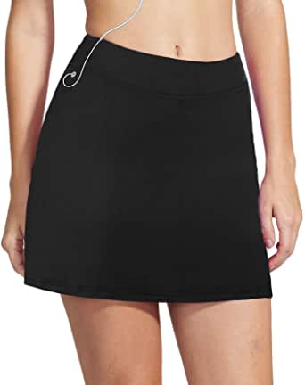 Misterjolly Women's Skort Girls Active Athletic Skirt for Running Tennis Golf Workout Sports S-XXL