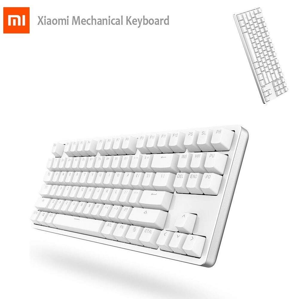 FidgetGear Xiaomi Mechanical Ergonomic Gaming Backlit Keyboard With Red Switch + Backlight B07QDXRJVJ