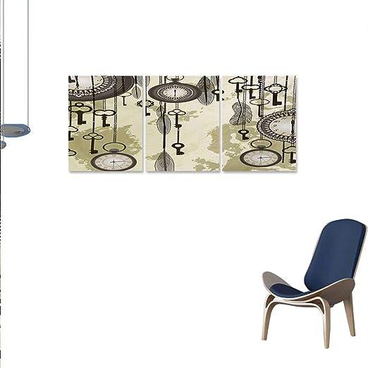 Lienzo antiguo arte de pared para dormitorio decoración del ...