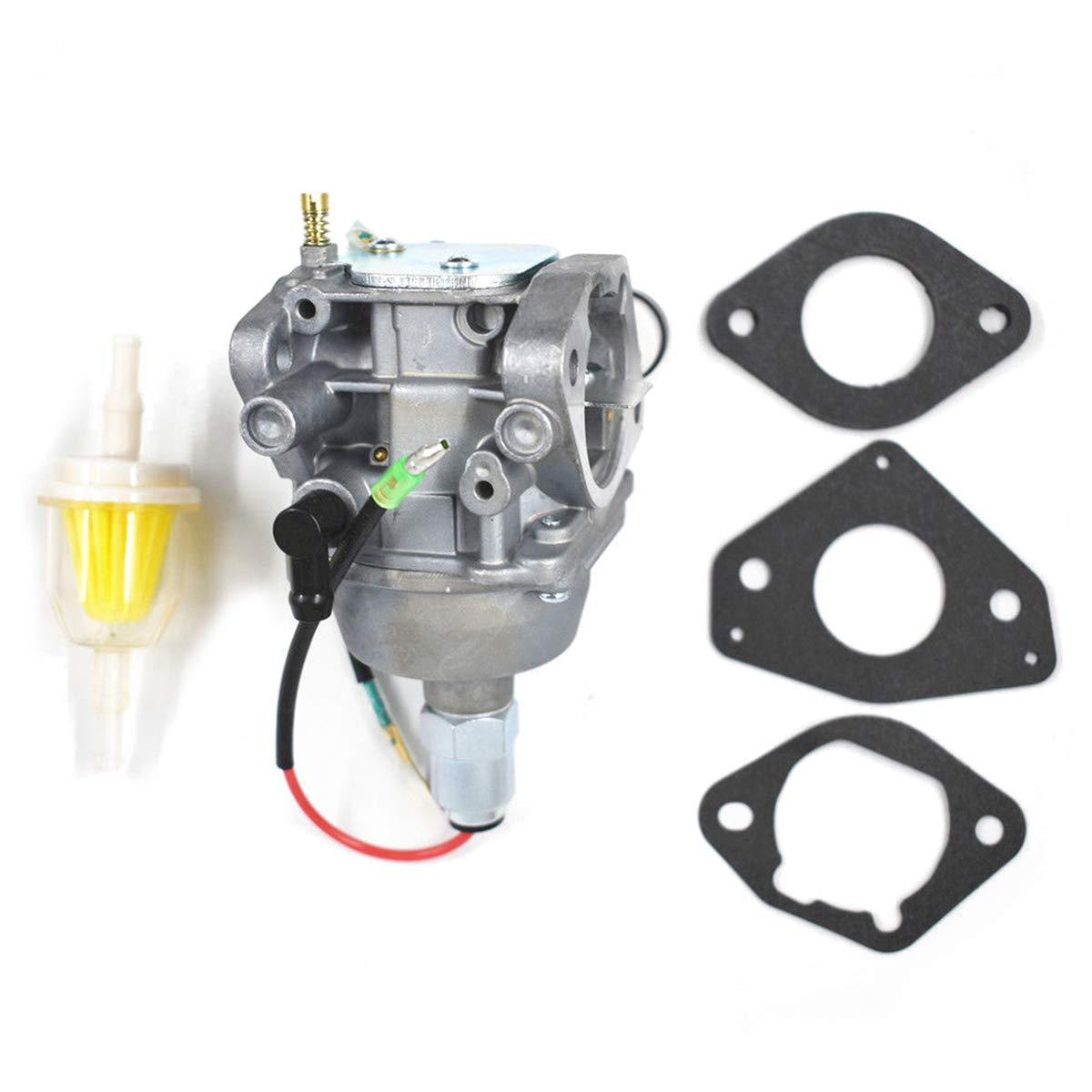 Replace Carb Part NO. Triumilynn 24 853 169-S Carburetor Kit for Kohler Engines CV675 CV640 CV730 24853169-S//24-853-169 HAOCEHNG