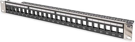 Digitus Professional Modulares 24 Port Patchpanel Computer Zubehör