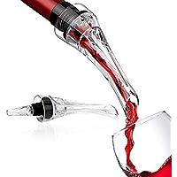 Vituzzi Decantador Compacto de Vino 2.0. Aireador/Oxigenador/Vertedor Slim para cualquier tipo de Botella o Copa de Vino Tinto, Rosa y Blanco. Certificado por la FDA. Wine Decanter