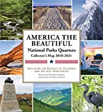 National Parks Commemorative Quarters Collector s Map 2010-2021 (includes both mints!)