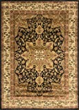 Home Dynamix Royalty 8083-450 Black 7-Feet 8-Inch by 10-Feet 4-Inch Traditional Area Rug Picture