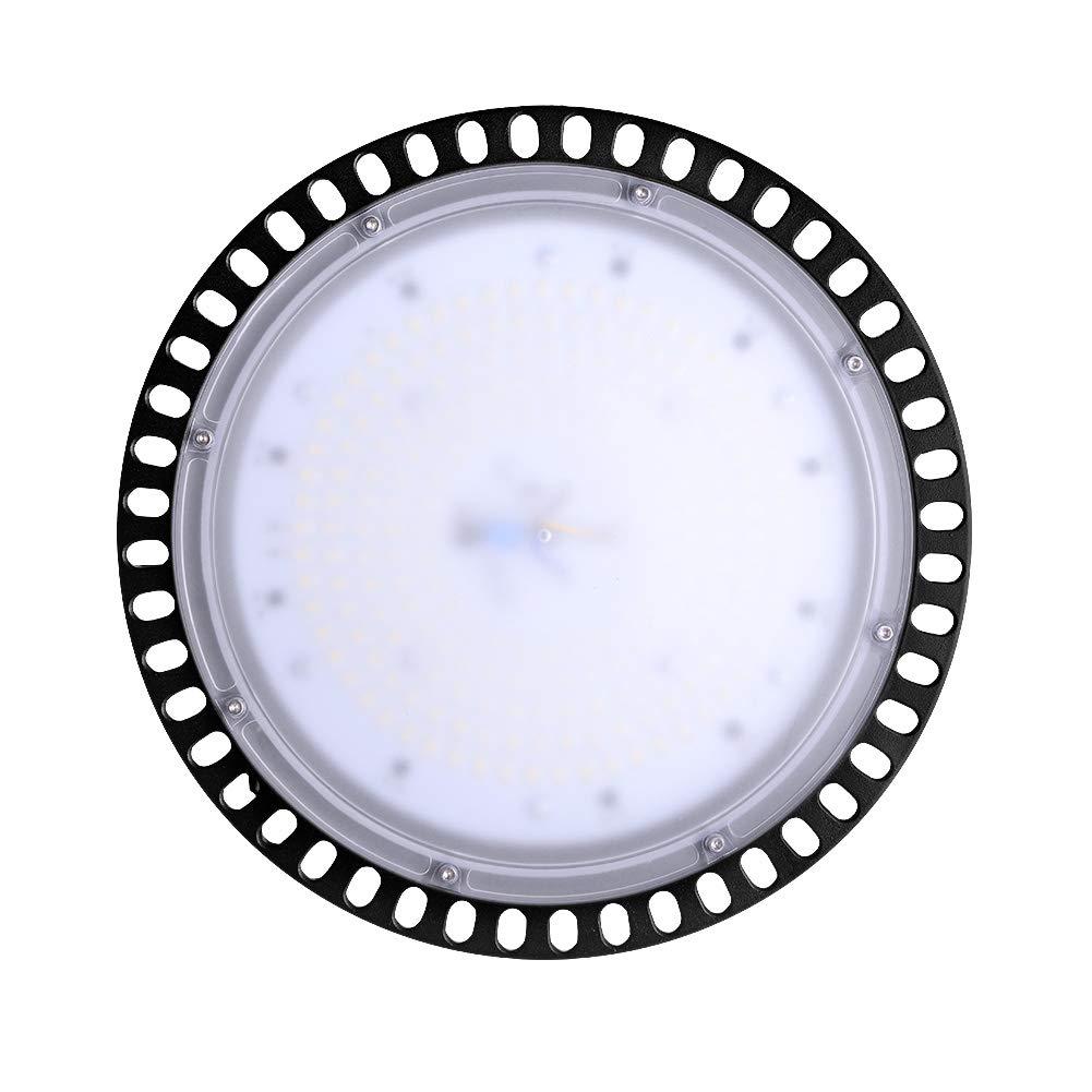 Energieklasse A+ LED Industrielampe 16000LM Hallenstrahler Deckenleuchte Kronleuchter Industrial Strahler f/ür Flur Garten Garage Werkstatt Kaltwei/ß 6000-6500K 200W-UFO-LED-Hallenleuchte