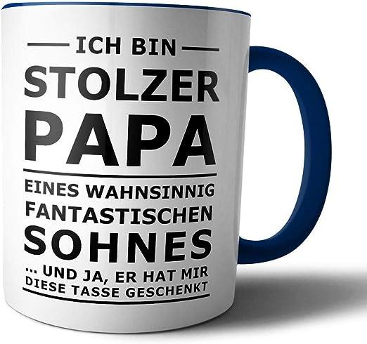 Wenn Papa es nicht reparieren kann sind Kaffeebecher Kaffeetasse Familie Tasse