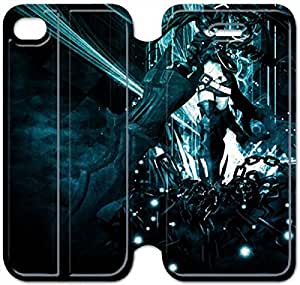 iphone 6 6S 4.7 inch Flip Leather Phone Case Black Rock Shooter SF1DG6272557