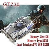 Leoie 4GB GT730 GDDR5 128Bit PCI Express Game Video Graphics Card
